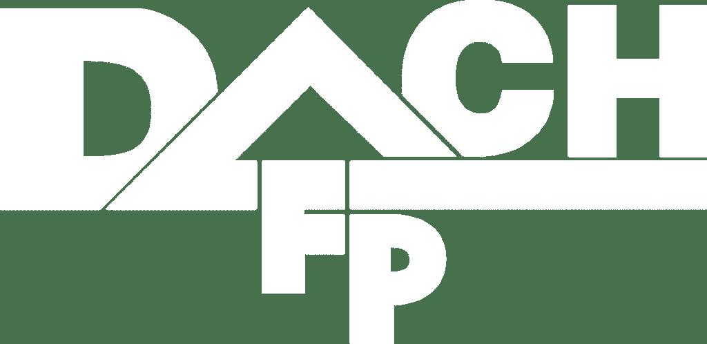 F+P Dach Kärnten - Dachtechnik auf höchstem Niveau - Logo weiss